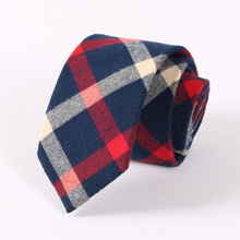 Mantieqingway Cotton Plaid Ties Necktie Gravata For Men's Suits Casual Design Men's Tie Neckwear Wedding Classic Ties Cravats