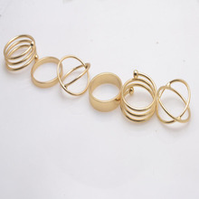 Fashion accessories jewelry New  finger ring set gift  for women girl wholesale 1set=6pieces R1314