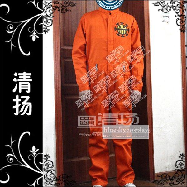 one piece Bepo  Cosplay Costume   Anime custom any size  Halloween