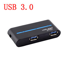 Fast Speed USB 3.0 Mini USB Hub 4 ports Splitter Adapter  For PC Laptop