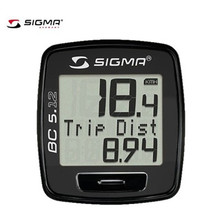 SIGMA BC 5.12 wired Golden Edition Waterproof Bicycle Speedometer Road Bike Computer MTB Wire Odometer Cycling Odograph