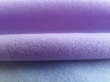 1 meter Purple fabric for DIY sewing Stuffed toys sofa furniture material Warp knitted brushed Plain Loop velboa velvet