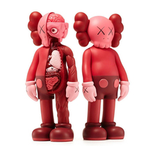 11 Inch 27cm Originalfake Kaws Dissected Companion Art Toys PVC Action Figure Collectible Model Toy A116
