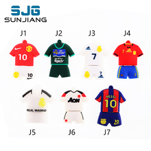 new football shirt pendrive 32GB 8GB  usb flash drive 4GB pen drive 16GB pendrive 64GB  Usb 2.0 flash card memory stick