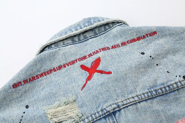 Graffiti Denim Jackets 8