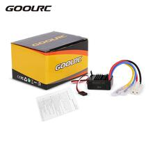 GoolRC 60A Brushed ESC Electric Speed Controller with 5V/2A BEC for 1/10 Ordinary Models RC Cars Parts Consumer Electronics