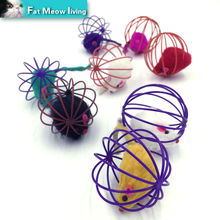 Cat toy nteractive mouse sound ball animate 1pcs Pet product toys For cats cheap pet cat funny toys Colorful 60mm Free shipping