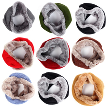 Hot Sale!! Velvet Baby Scarf Warm Children Winter Scarf For Kid O-Scarf Boy Girl Neck Warmer bufandas Comfortable Drop Shipping