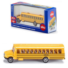 Free Shipping/Siku 1:87 Scale/Diecast Toy Car Model/US Children School Bus/Educational/Collection/Toy for children/Gift