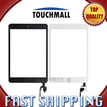 For New Touch Screen+Home Button+Sticker Camera Holder Replacement iPad Mini 3 A1599 A1600 A1601 Black White Black Free Shipping(China)