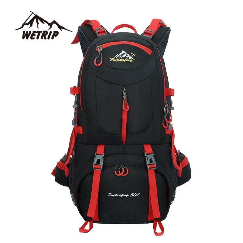 Outdoor  Backpack sports bag Hiking Cycling Bag Climbing 50L Lightweight Waterproof  Travel Backpack Big Load  Knapsack Rucksack<br><br>Aliexpress
