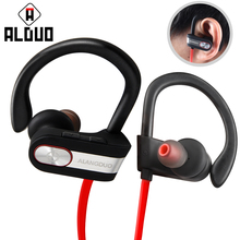 ALANGDUO G7 Wireless Bluetooth Earphones Noise Canceling Headphones With Mic Waterproof Sport Bluetooth Headsets for iPhone 7 8(China)