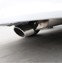 Car Exhaust Pipe Rear Tail Pipes car styling For FIAT 500 Coroma Panda Idea Freemont Cross Uno Palio Tipo EVO
