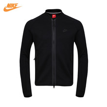 Nike Official Men's Spring Autumn Sports Black Jacket 678509-677(China)