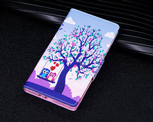 Buy Sony XZ Premium Case,Fashion Painted Pattern Leather Wallet Cover Sony Xperia XZ Premium /X1 Phone Protection Shell for $3.89 in AliExpress store