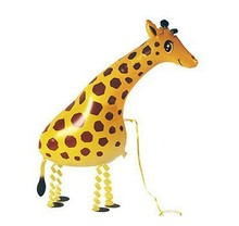 Free shipping !!! 10pcs/lots wholesales walking balloons pet , giraffe animal balloons , helium air balloons(China)