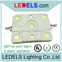 SMD 5050 injection led module for light box lighting waterproof with 5 led chips and UL certification : E 468389(China)