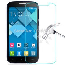 10pcs/lot 9H 2.5D Explosion-proof Tempered Glass Film For Alcatel One Touch Pop C7 / OT7040 / 7040D/7041D Screen Protector