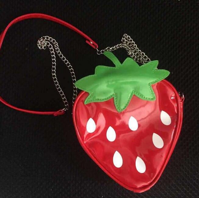 Funny Children Shoulder Bag Fruit Messenger Bag Transparent Lemon Strawberry Small bags Watermelon Wallet Purses And Handbags H<br><br>Aliexpress