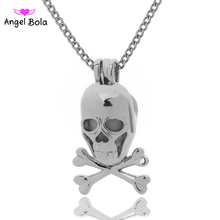 Angel Bola Jewelry Yoga Aromatherapy Essential Oils Surgical Perfume Diffuser Locket Necklace Drop Shipping L164