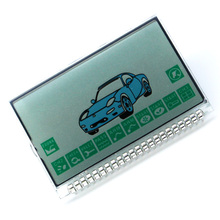 Free shipping hot sale russia version A8 Lcd display for starline A8 lcd two way car alarm remote controller