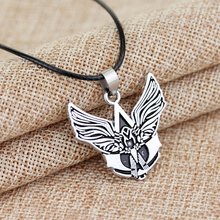 Game Series New Arrival Assassins Creed Angel wing pendants Necklace Assassins Creed Necklace(China)