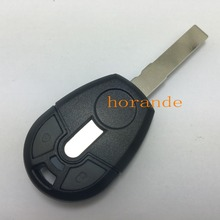 Horande Replacement Car Key Blank Case For Fiat Positron EX300 Transponder Key Shell No Chip Fob with Logo