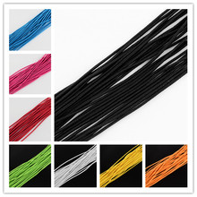 Elastic Stretch Cord 2mm Jewelry Findings Beading Beads Cord String Strap Rope Bead For Bracelet Elastic Cord about 100m/bundle