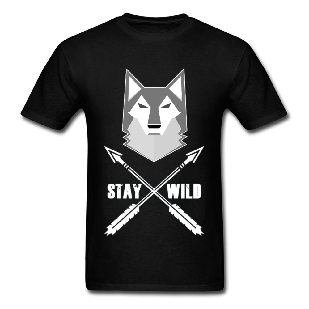 0314WD032 100% Cotton Tops & Tees for Men Casual T-shirts Fashionable Prevailing Crewneck Tops & Tees Short Sleeve 0314WD032 black