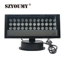 SZYOUMY 36W LED RGB Light DMX Outdoor Garden Stage Floodlight Wall Washer Lamp Landscape 2PCS DHL Shipping