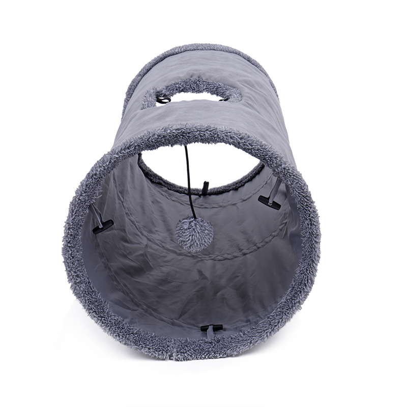big cat tunnel Big Long Cat Tunnel with Play Ball Suede Material-Free Shipping HTB1A35jqrsTMeJjy1zeq6AOCVXaG