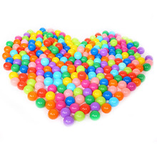 Cute Ocean Ball Eco Friendly Soft Plastic Tent Water Pool Ocean Wave Baby Toys 25pcs/50pcs/100pcs/lot Beach Ball High Quality