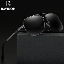 BAVIRON 2017 New Design Men Sunglasses Classic Driving Glasses Nice Polarized Man Sun Glasses Aluminum Frame UV400 Eyewear 17006