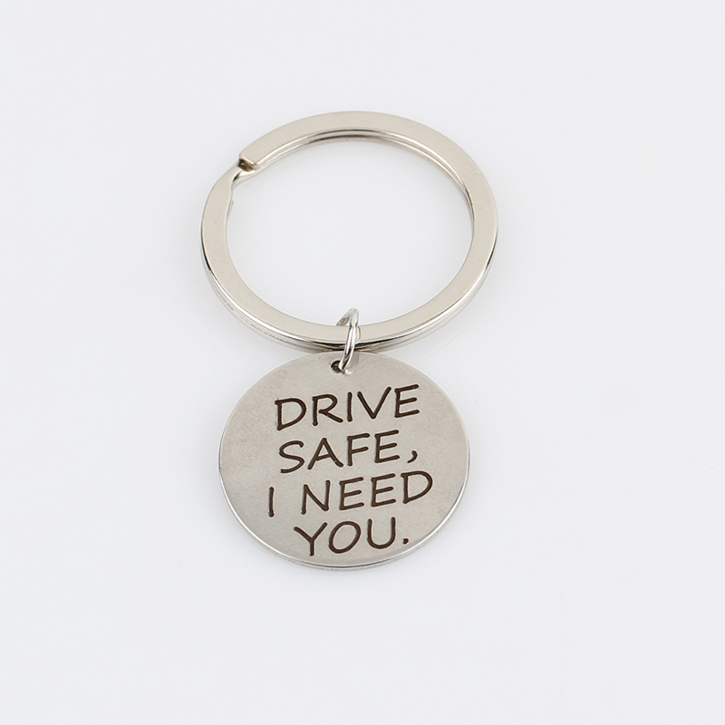 New-Letter-DRIVE-SAFE-I-NEED-YOU-Keyring-Charms-Keychain-Women-Men-Jewelry-Key-Chain-Car (2)