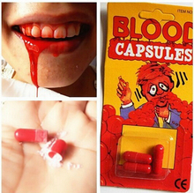 Spray Blood pills amazing Toy Gift Joke Prank Trick Fun joke April Fool's Day special present TOY creative gift Brandnew gifts