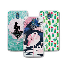 "For HTC 526 326 4.7"" Case Cover Mermaid Painting Hard Plastic Case For HTC Desire 526 526G 526G+ 326 326G Dual Sim Case Cover"