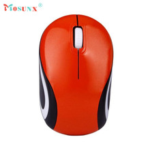 Mosunx Advanced Mini adapter Plug and play well Cute Mini 2.4 GHz Wireless Optical Mouse Mice For PC Laptop Notebook 1PC