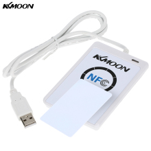 KKmoon ACR122u NFC Reader Writer 13.56Mhz RFID Copier Duplicator Contactless Smart Reader Writer/USB + 5pcs UID Card + SDK(China)