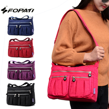 Women's Messenger Bags Ladies Nylon Handbag Travel Casual Original Bag Shoulder Female High Quality Large Capacity Crossbody Bag