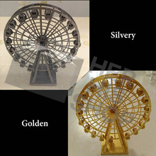 Ferris wheel 3D laser Cut Chinese Metal Earth ICONX 3D Metal model kits Sheets Military Nano Puzzles DIY Creative birthday gifi