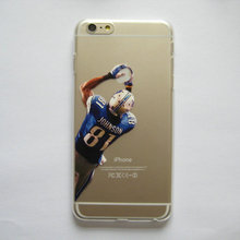 Clear Case for iphone 6 6s 6plus 5 5s SE 5c American Football Gronkowski Cruz Johnson Manning printed Phone Cover
