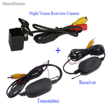 2.4GHz Wireless Transmitter & Receiver and Night vision Rearview CCD Camera For Car DVD Player  different Parking Monitor