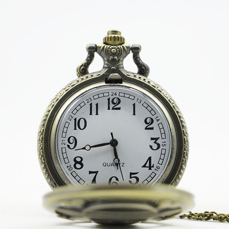 2017-New-Arrival-Vintage-bronze-Moon-Wolf-Pocket-Watch-Necklace-Pendant-Gifts-Clock (2)