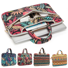 "11""12""13""14""15"" Laptop Handbag Notebook Carrying Case Ultrabook Computer Sleeve Canvas Tote Bag For Macbook Dell Lenovo HP 15.6"""