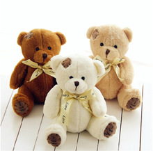 18cm High Quality Super Kawaii Cute Lovely Teddy Bear Plush Toys & Stuffed Dolls Wedding Decoration Baby Toy Baby Gift