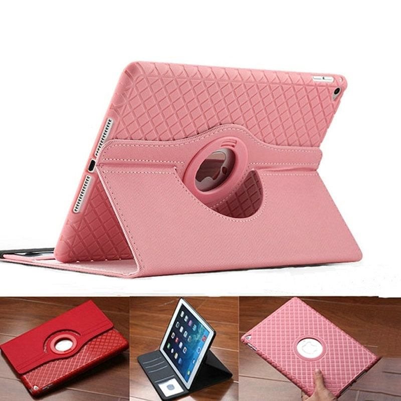 New for ipad air case 360 rotatable Soft TPU back cover For Apple iPad air ipad5 Cases Soft Silicon full protector case+film<br><br>Aliexpress