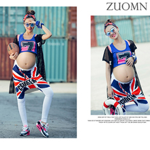 Maternity Football baby Full Sets Pregnant Photography Props Clothes Spain Germany Brazil Cheerleading Fashion Uniform YL420(China)