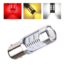2pcs 1157 12 5630 SMD BAY15D Cree Led Chip High Power lamp 21/5w led car bulbs brake Lights Source parking 12V White Red Yellow
