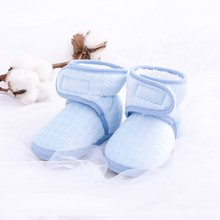 Buy New baby shoes Newborn Cozie Faux Fleece Bootie Winter Warm Infant Toddler Crib Shoes Classic Floor Boys Girls Boots for $1.78 in AliExpress store
