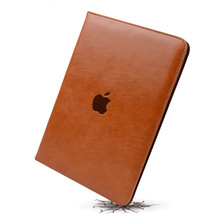 Luxury Top Crafted Shockproof Automatic Wake Sleep Smart Cover Leather Case for IPad Air 2 IPad 5 IPad 6(China)